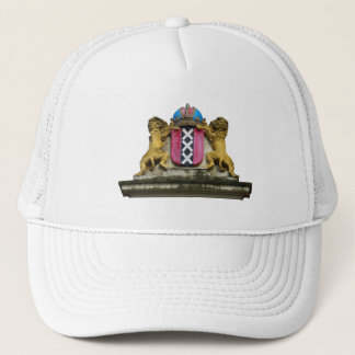 帽子アムステルダムの紋章付き外衣 キャップ