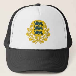 帽子エストニアの紋章付き外衣 キャップ