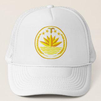 帽子バングラデシュの紋章付き外衣 キャップ