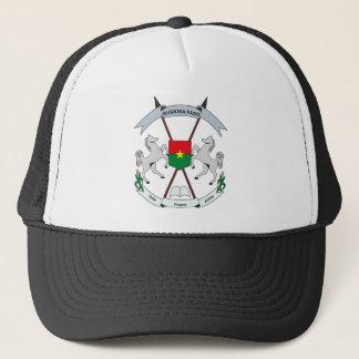 帽子ブルキナファソの紋章付き外衣 キャップ