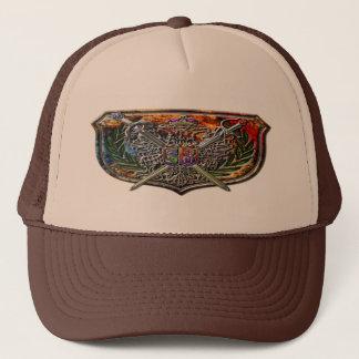 帽子二重ワシの紋章付き外衣 キャップ