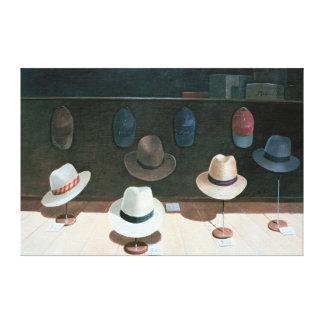 帽子店1990年 キャンバスプリント
