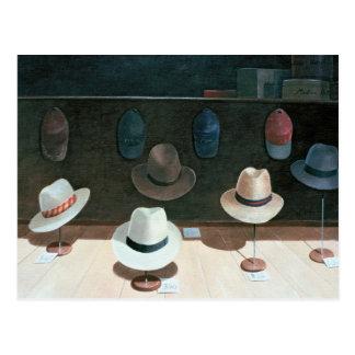 帽子店1990年 ポストカード