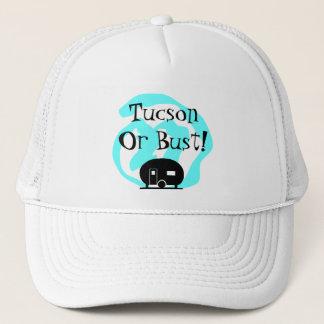 帽子旅行トレーラーチューソンかバスト旅行のキャンプAZ キャップ