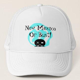 帽子旅行トレーラーニューメキシコかバストNM旅行のキャンプ キャップ