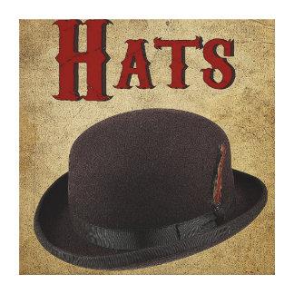 帽子1 キャンバスプリント