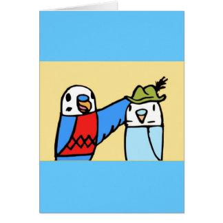 帽子 カード