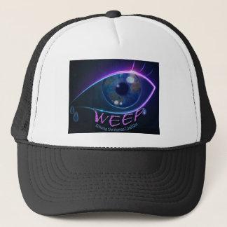 帽子-人間の条件をエコーする帽子を泣いて下さい キャップ