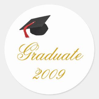 帽子、卒業生2009年 ラウンドシール