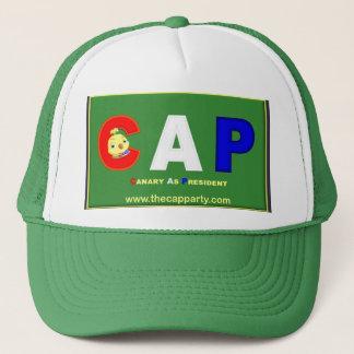 帽子(大統領としてカナリア)のパーティーの帽子 キャップ