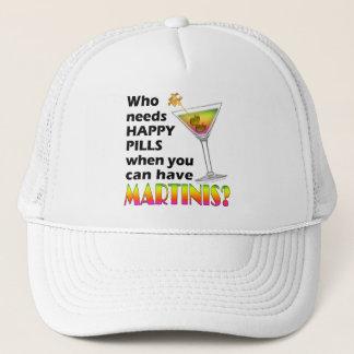 帽子、帽子-マルティーニV.の幸せな丸薬 キャップ