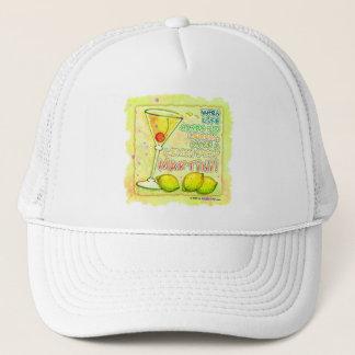 帽子、帽子-レモンドロップマルティーニ キャップ