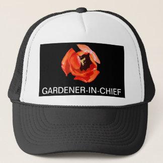 帽子、庭師責任者、チューリップの秘密 キャップ