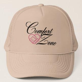 帽子-心地よい地帯のロゴ キャップ