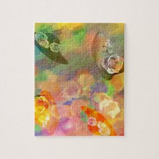 帽子、花および色 ジグソーパズル