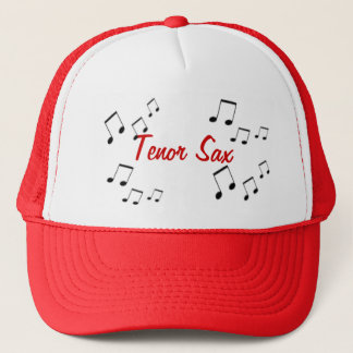 帽子-赤の楽器の文字 キャップ