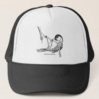 帽子/黒おおわれた《鳥》アメリカゴガラ キャップ