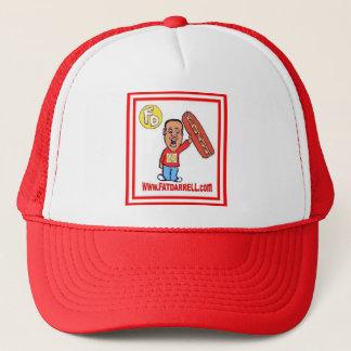帽子FD1のトラック運転手(赤い) キャップ