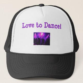 帽子w/Danceのパーティーのロゴを踊る愛 キャップ