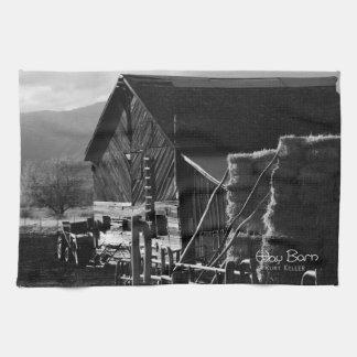 干し草の納屋 キッチンタオル