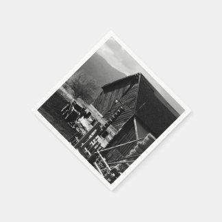 干し草の納屋 スタンダードカクテルナプキン