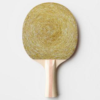 干し草の背景-卓球ラケット 卓球ラケット