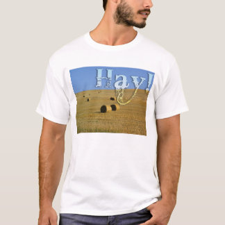干し草分野 Tシャツ
