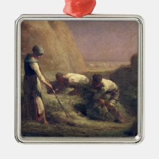 干し草Trussers 1850-51年 メタルオーナメント