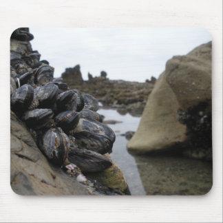 干潮のニューポートビーチ マウスパッド