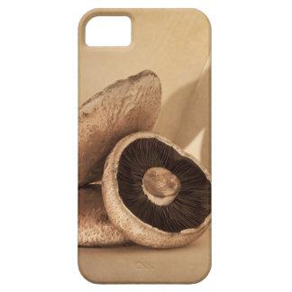 平らなきのこが付いている静物画および劇的 iPhone SE/5/5s ケース