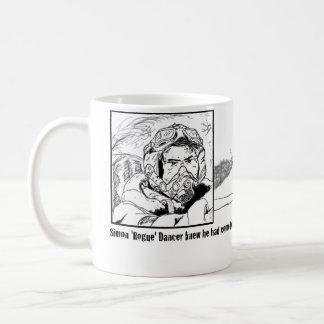 平らなストリップ コーヒーマグカップ