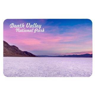 平らなデスヴァレー国立公園の塩 マグネット