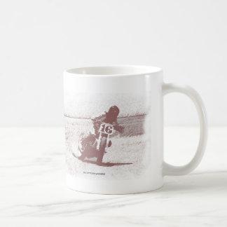 平らなトラックマグ コーヒーマグカップ