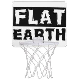 平らな地球のミニバスケットボールのたが ミニバスケットボールネット