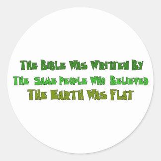 平らな地球の歴史家 ラウンドシール