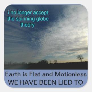 平らな地球 スクエアシール