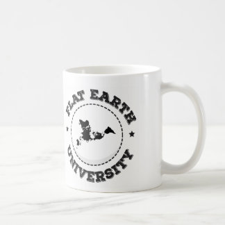 平らな地球 -- マグ1 コーヒーマグカップ
