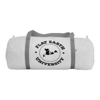 平らな地球 -- 体育館のバッグ ジムバッグ