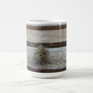 平らな木の種 コーヒーマグカップ