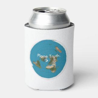 平らな真実。 |の飲み物のクーラーボックス! 缶クーラー