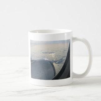 平らな眺め3 コーヒーマグカップ