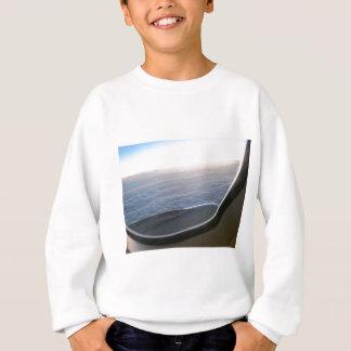平らな眺め スウェットシャツ
