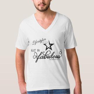 平らののライフスタイル及びすばらしい Tシャツ