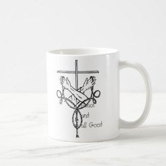 平和およびすべてのよいマグ コーヒーマグカップ