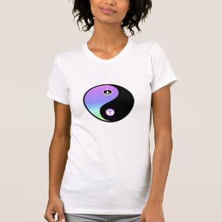 平和およびバランスの基本的なティー Tシャツ