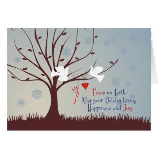 平和および喜び カード