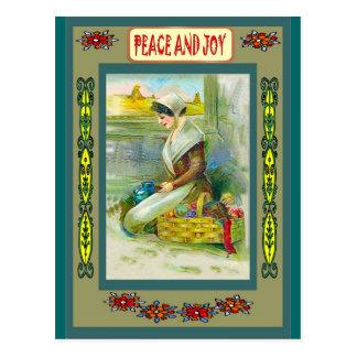 平和および喜び ポストカード