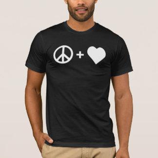 平和および愛人のTシャツ Tシャツ