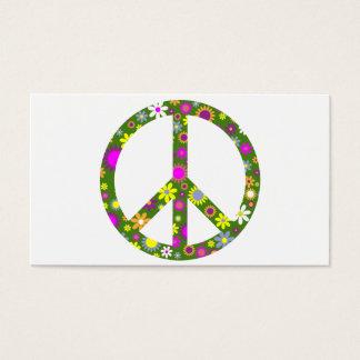 平和および愛 名刺