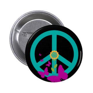 平和および自然Pin 5.7cm 丸型バッジ